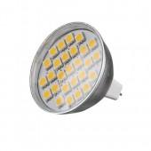 Купить LED GU5.3 3.8W 27 pcs WW MR16 230V SMD5050 LedLumen лампа светодиодная