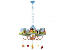Купить KL-409S/5 E14 OR люстра для детской