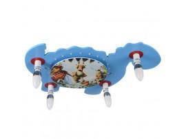 Купить KL-418W/4 E14 BL светильник для детской