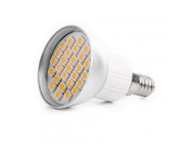 Купить LED E14 3.8W 27 pcs WW JDR SMD5050 лампа светодиодная