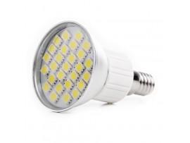 Купить LED E14 3.8W 27 pcs CW JDR SMD5050 лампа светодиодная