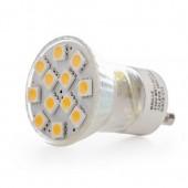 Купить LED GU10 2.4W 12 pcs WW MR11 SMD5050 лампа светодиодная