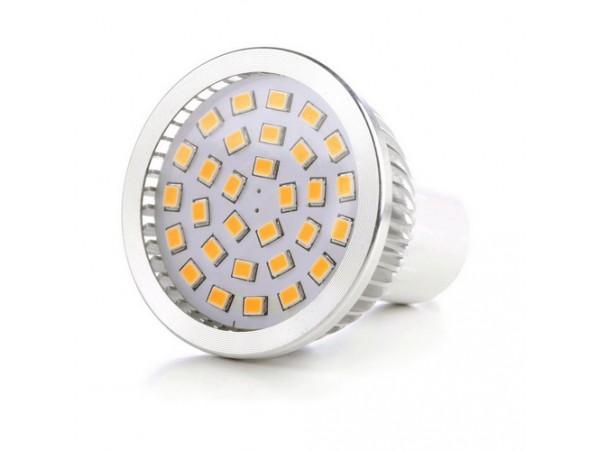 Купить LED GU10 4.6W 30 pcs WW MR16 SMD2835 лампа светодиодная