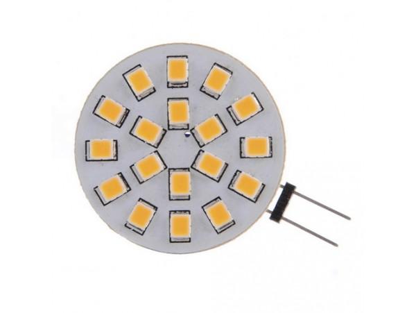 Купить LED G4 3.1W 18 pcs CW RL SMD2835 12V лампа светодиодная
