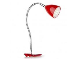 Купить MTL-22 LED 1.8W RED настольная лампа светодиодная на прищепке